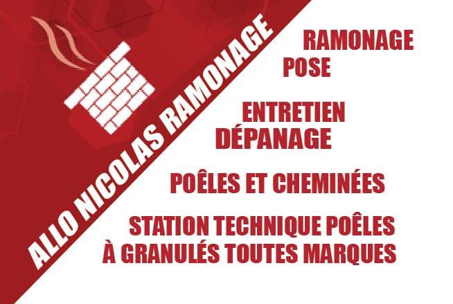 Logo d'Allô Nicolas Ramonage, spécialise du ramonage et de l'entretien de vos chauffages