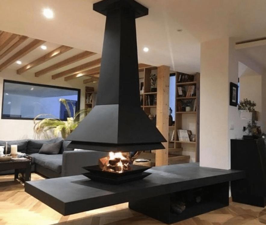 cheminée-moderne